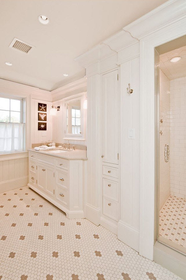 white_hexagon_bathroom_tile_35