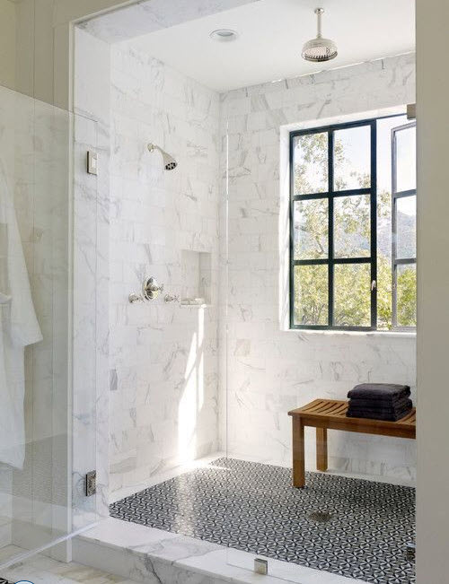 29 White Marble Bathroom Tile Ideas And Pictures