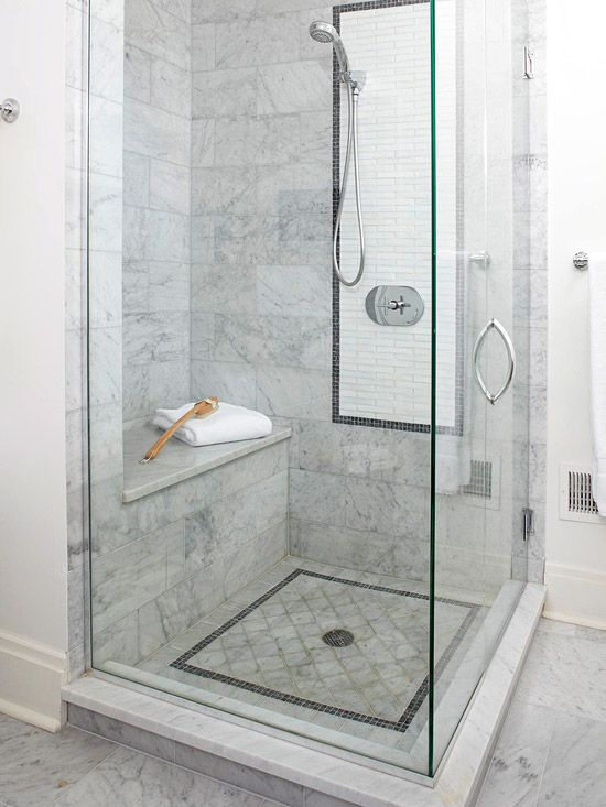 29 white marble bathroom wall tiles ideas and pictures for Bathroom ideas marble tile