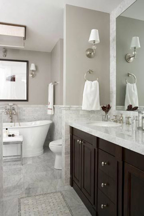 White Marble Bathroom : White marble bathroom wall tiles ideas and pictures