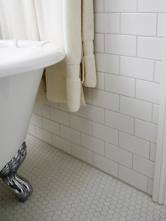30 White Mosaic Bathroom Floor Tile Ideas And Pictures