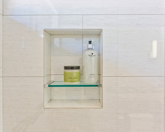 Awesome White Porcelain Bathroom Tile Can Add That Special Touch To Your