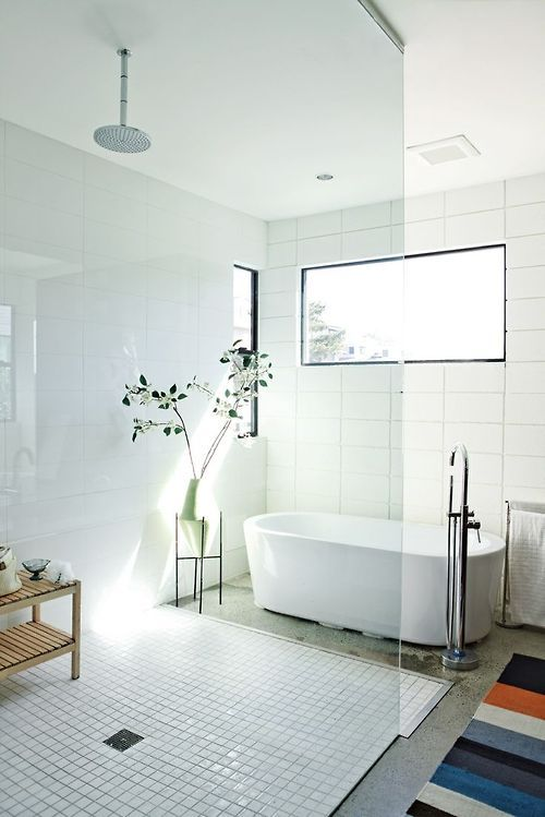 37 White Rectangular Bathroom Tiles Ideas And Pictures 2019