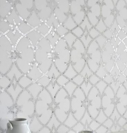 Perfect 36 White Sparkle Bathroom Tiles Ideas And Pictures