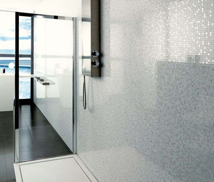 White Sparkle Bathroom Tiles 25 26 27 28