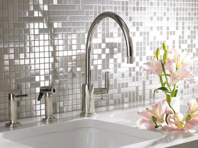36 White Sparkle Bathroom Tiles Ideas