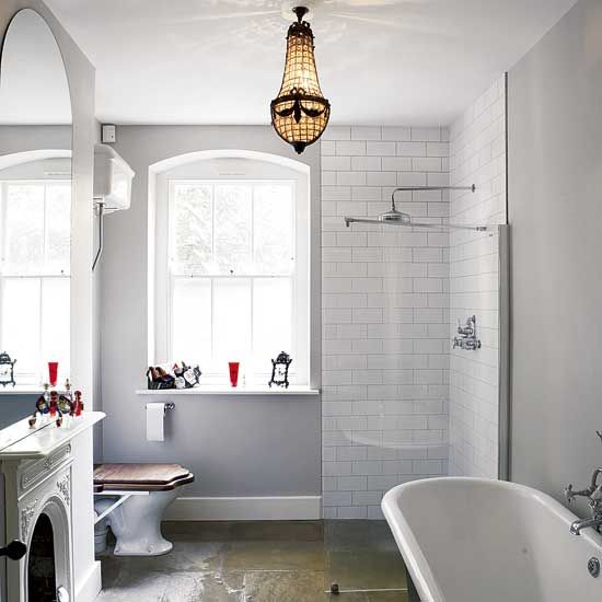 31 white subway tile in shower ideas and pictures - Bathroom ideas metro tiles ...
