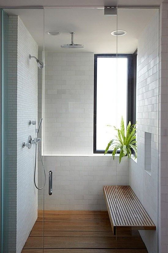 Another Good Way Of Incorporating Subway Tile To The Shower Is By