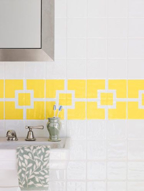 38 yellow bathroom tile ideas and pictures 25 best ideas about yellow tile bathrooms on pinterest