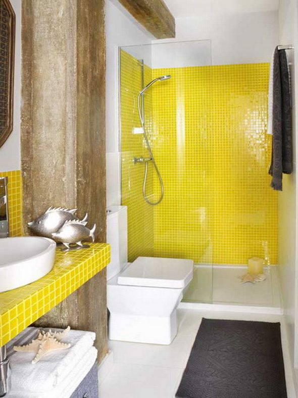 yellow_mosaic_bathroom_tiles_1
