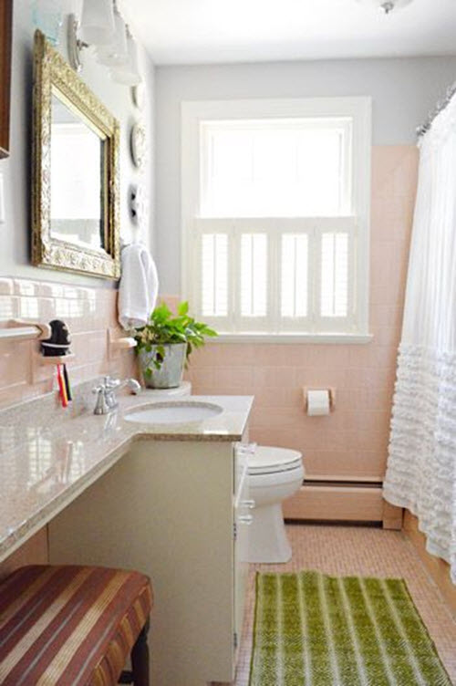 pink tile bathroom ideas 37 1950s pink bathroom tile ideas and pictures 21283