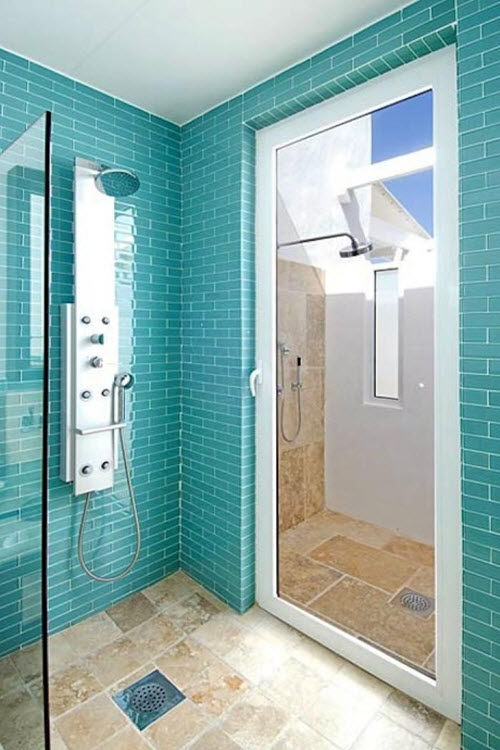 Aqua Blue Bathroom Tile 29 30 31 32 33
