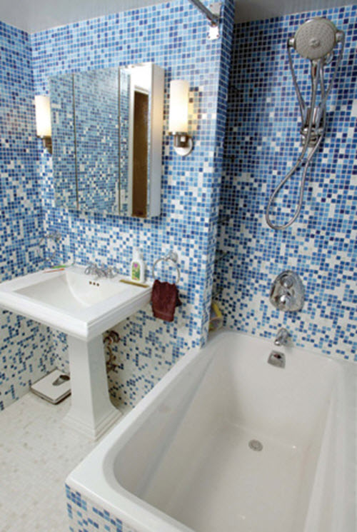 36 Baby Blue Bathroom Tile Ideas And Pictures 2019