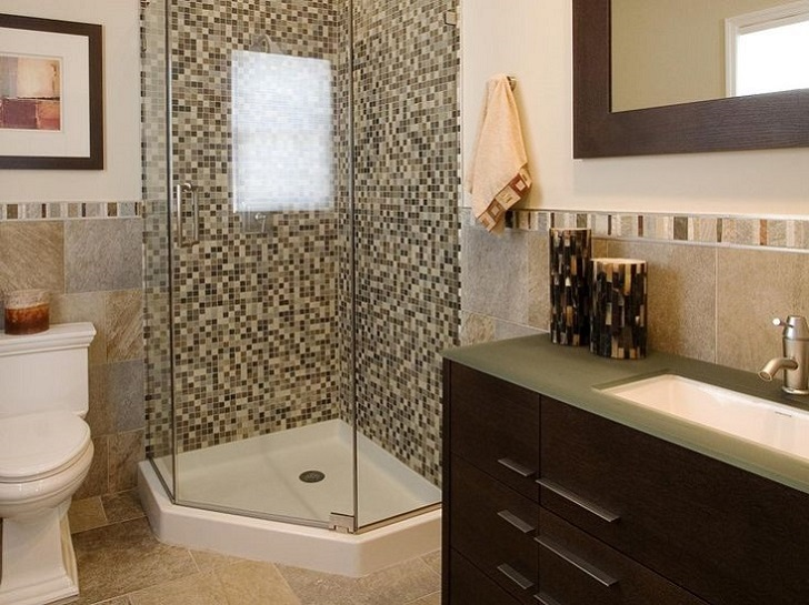 40 Beige And Brown Bathroom Tiles Ideas And Pictures 2019