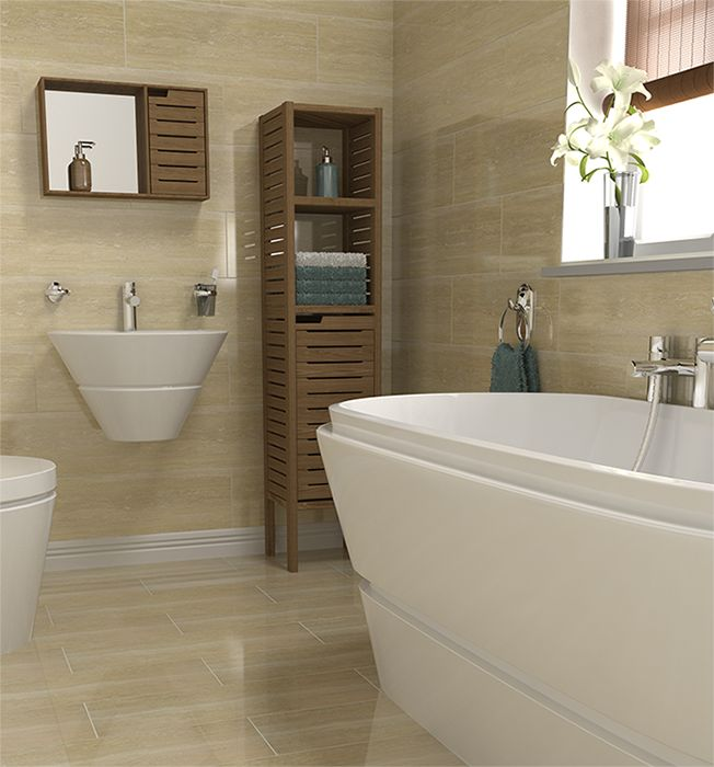 Perfect 40 Beige Bathroom Wall Tiles Ideas And Pictures