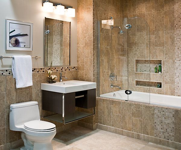 40 beige stone bathroom tiles ideas and pictures for Bathroom tiles images gallery