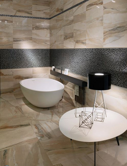 Perfect 40 Beige Stone Bathroom Tiles Ideas And Pictures