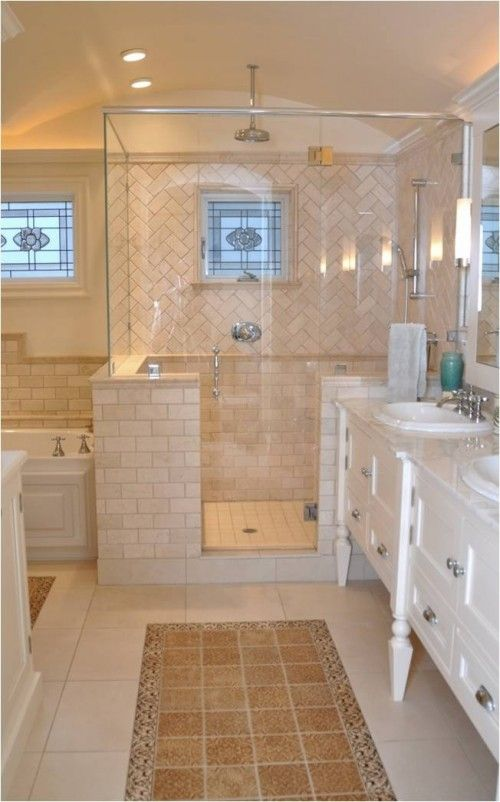 Brilliant About Beige Tile Bathroom On Pinterest  Beige Bathroom Mirrors Beige