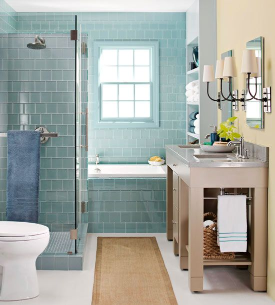 40 blue bathroom tile ideas and pictures 2020