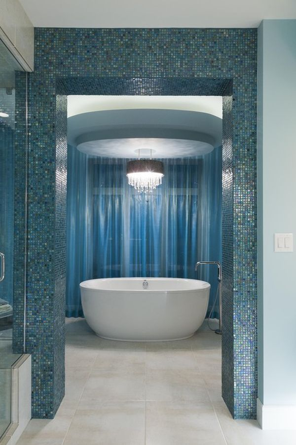 Brilliant Checked Tiles In Alternating Blue And White Are A Simple Design That Will Create  Whatever Your Style, Youre Sure To Find Inspiration With These Bathroom Tile Ideas