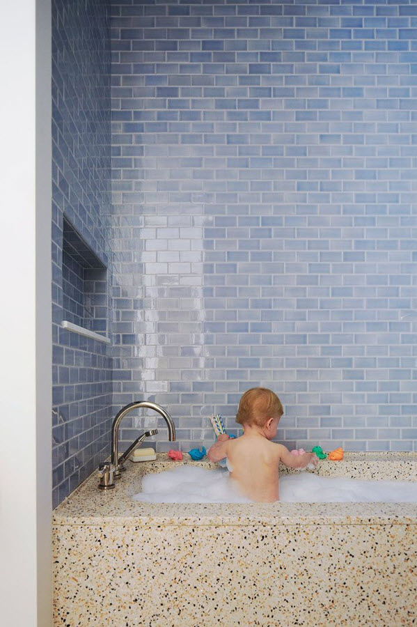 Luxury Comments Off On Colorful And Unique Bathroom Floor Tile Ideas
