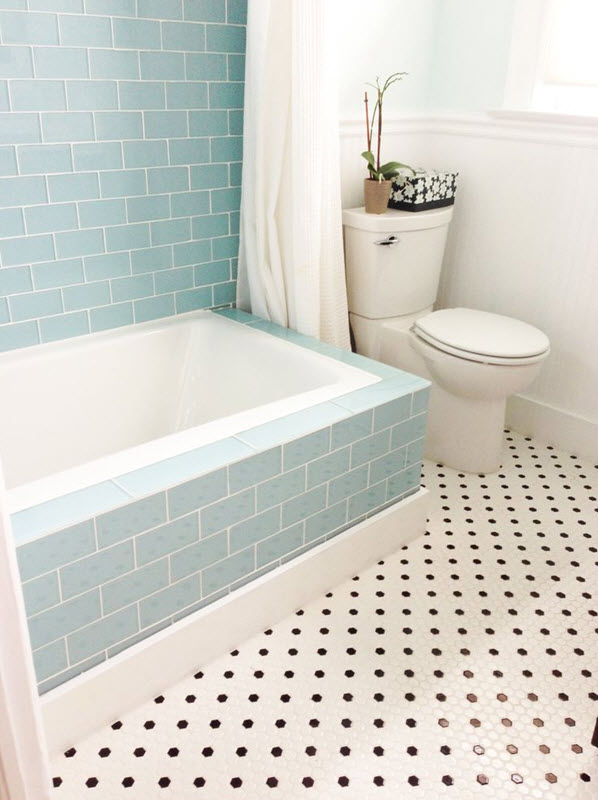 bathroom glass tile tub. blue glass bathroom tile 16  17 18 19 20 40 ideas and pictures