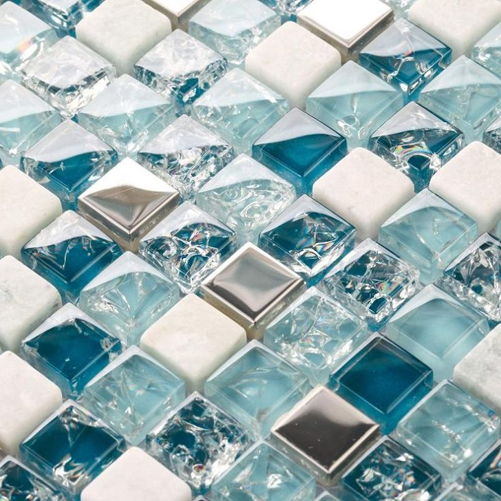 Creative My Own Bathroom  The Name Of Tiles With This Shape Is Fish Scale Tiles The Tiles In The 5th Images Are From Fired Earth You Can See More About This Brand In This Previous Post Glass Mosaic Tiles In Various Shades Of Blue And Green Are