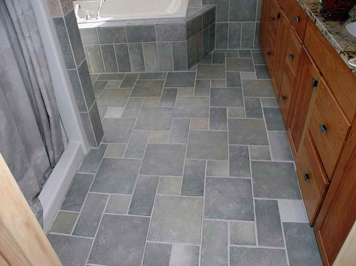 blue gray bathroom tile ideas and pictures, Home decor
