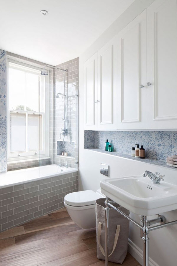 35 blue grey bathroom tiles ideas and pictures 2020