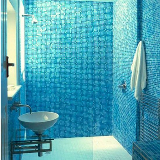 40 blue mosaic bathroom tiles ideas and pictures Bathroom tile ideas mosaic