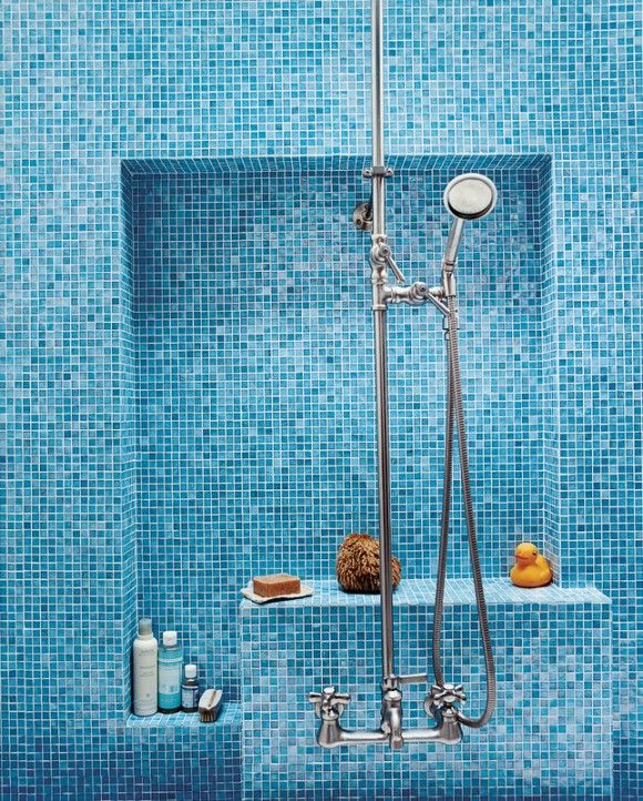 blue mosaic bathroom tiles 40 blue mosaic bathroom tiles ideas and pictures 17468