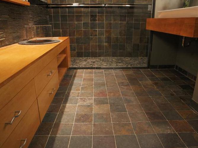 Chocolate Brown Floor Tiles Rebellions