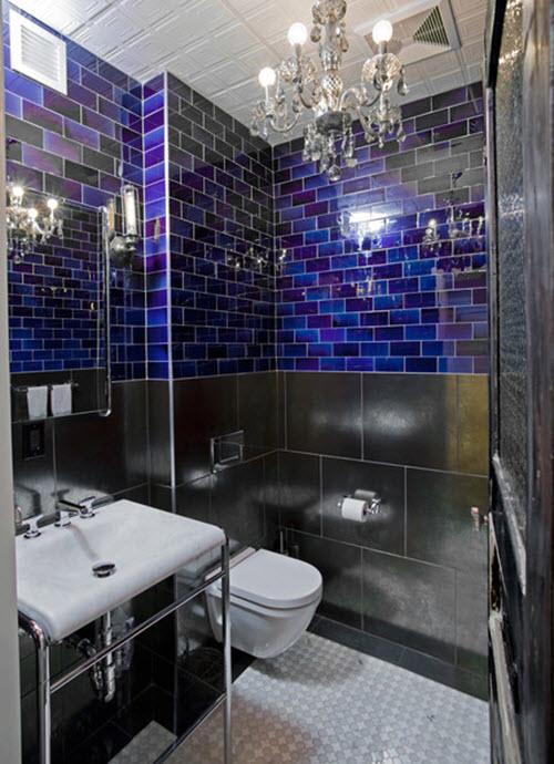 35 Cobalt Blue Bathroom Tile Ideas And Pictures 2020