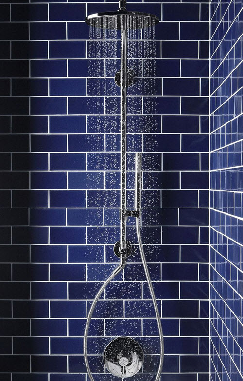 40 Dark Blue Bathroom Tile Ideas And Pictures 2019