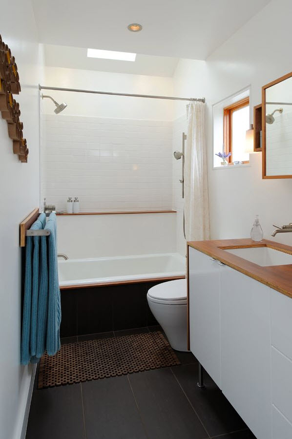 35 Dark Brown Bathroom Floor Tile Ideas And Pictures 2020