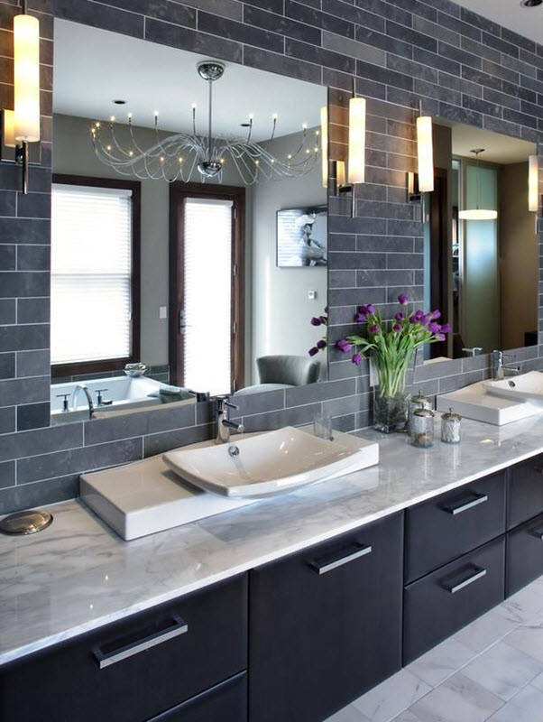Dark Gray Bathroom Tile Ideas And Pictures, Home Decor