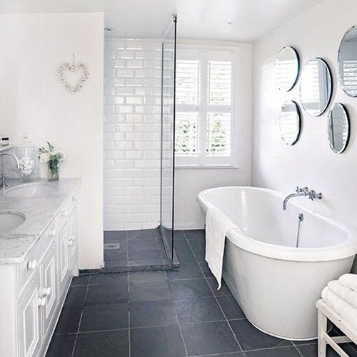 dark grey tiles bathroom 39 grey bathroom floor tiles ideas and pictures 18051