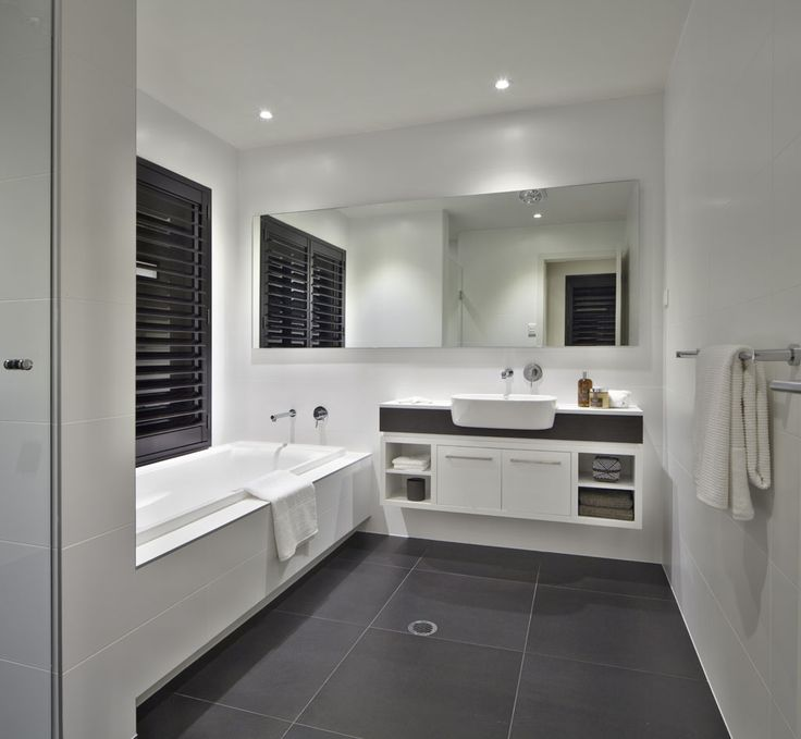 to make the right decision concerning dark grey on the bathroom