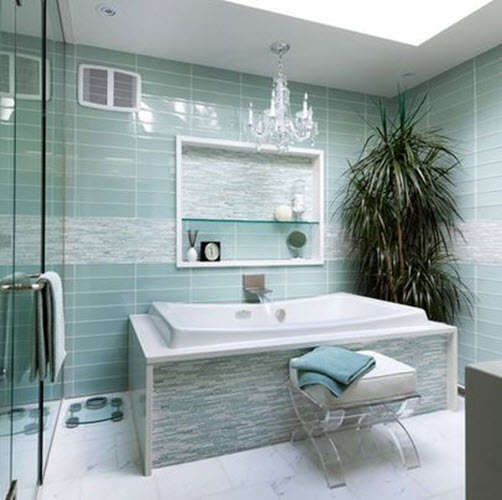 Pale Green Wall Tile