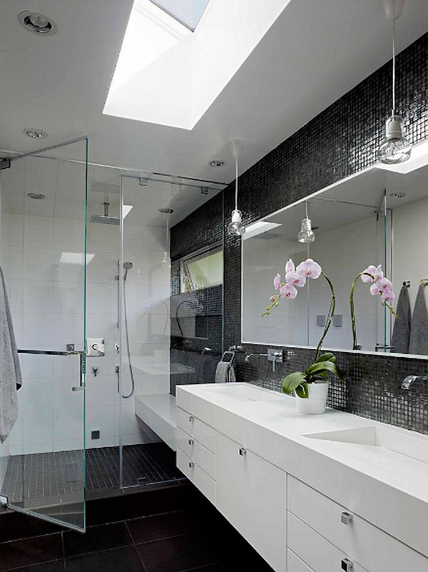 40 gray bathroom wall tile ideas and pictures for Bathroom designs gray