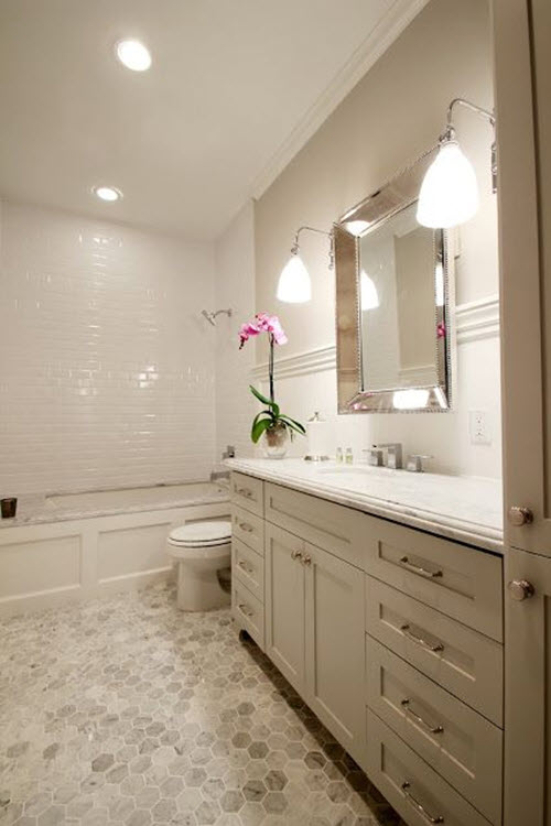 Bathroom Tile Ideas White