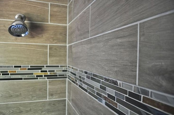 Gray Shower Tile 14