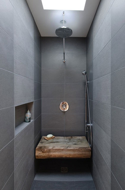 Gray Shower Tile 32