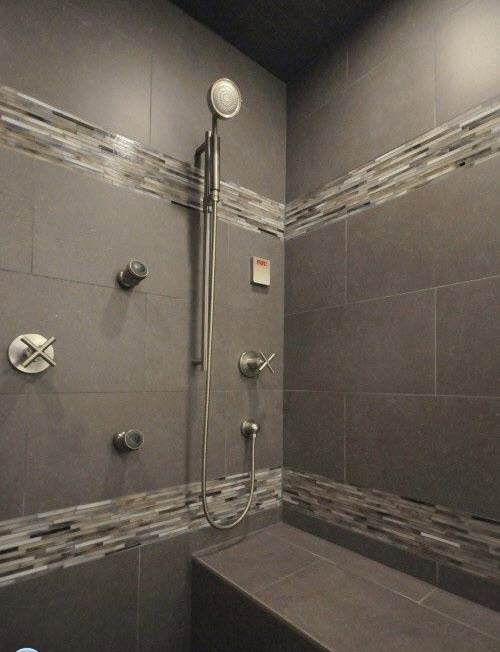 40 gray slate bathroom tile ideas and pictures 2020