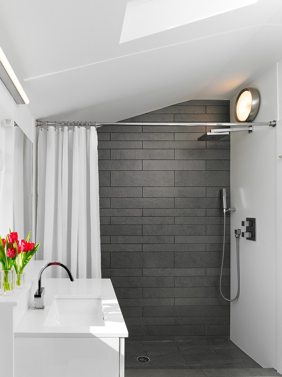 40 gray slate bathroom tile ideas and pictures 2019