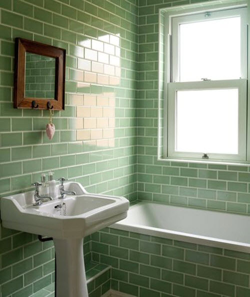 Elegant  Green Bathrooms On Pinterest  Blue Green Rooms Sea Green Bathrooms
