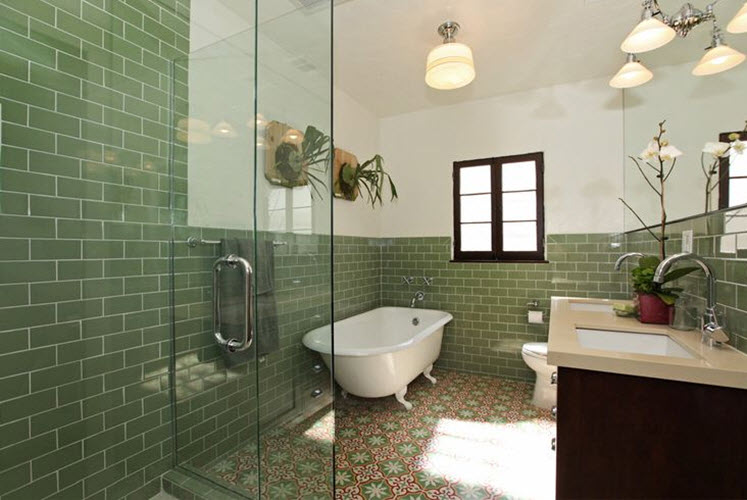 green_wall_tiles_for_bathroom_33