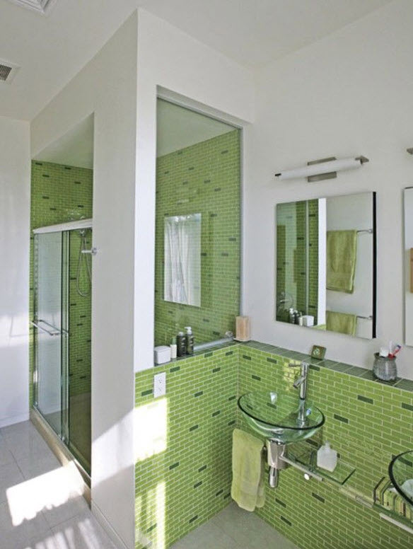green_wall_tiles_for_bathroom_39