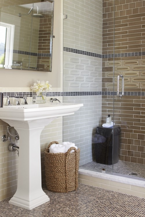 35 grey brown bathroom tiles ideas and pictures Bathroom tile ideas menards