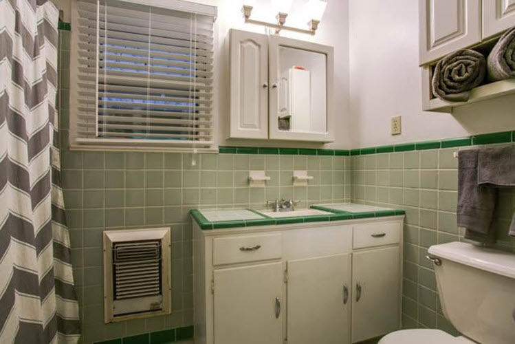 Fantastic 24 Grey Green Bathroom Tiles Ideas And Pictures